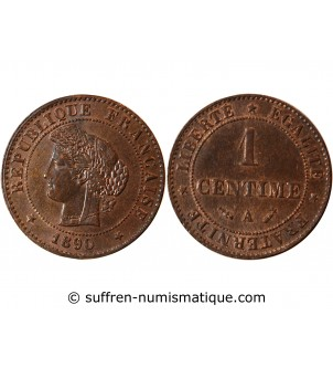 CERES - 1 CENTIME 1890 A PARIS