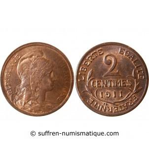 DUPUIS - 2 CENTIMES 1911