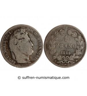 1 FRANC LOUIS PHILIPPE 1844...