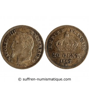 20 CENTIMES NAPOLEON III...