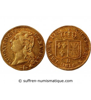 LOUIS XVI - LOUIS D'OR 1785...