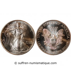 USA, SILVER EAGLE - ONCE...