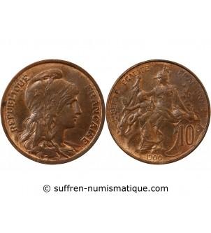 DUPUIS  - 10 CENTIMES 1900