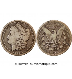 USA - MORGAN DOLLAR ARGENT...