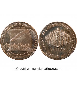 USA - DOLLAR ARGENT 1987 S...
