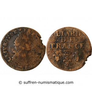 LOUIS XIV - LIARD 1698...