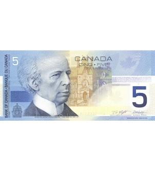 CANADA - 5 DOLLARS 2002 -...
