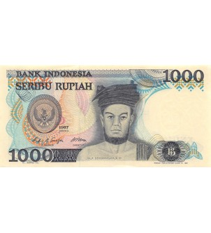 INDONESIE - 1000 RUPIAH 1987