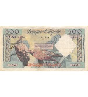 ALGERIE - 500 FRANCS...