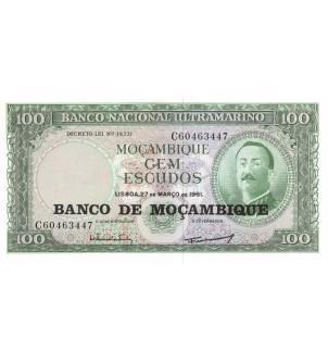 MOZAMBIQUE - 100 ESCUDOS...