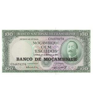 MOZAMBIQUE - 100 ESCUDOS 1976
