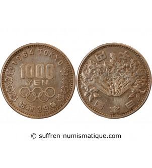 JAPON - 1000 YEN ARGENT...