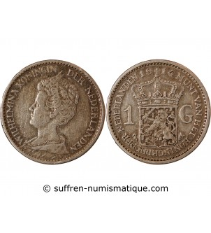 copy of PAYS-BAS - 1 GULDEN...