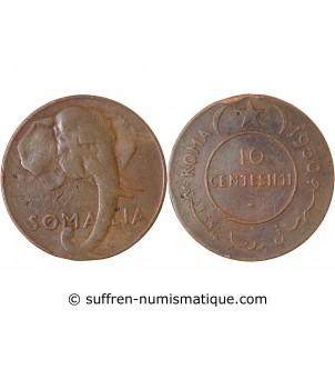 SOMALIE - 10 CENTESIMI 1950