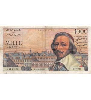FRANCE, RICHELIEU - 1000...