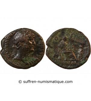 HADRIEN - AS 126 ROME