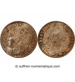 CERES - 50 CENTIMES 1881 A...
