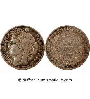 CERES - 50 CENTIMES 1871 A...