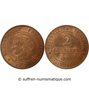 CERES - 2 CENTIMES 1879 A...
