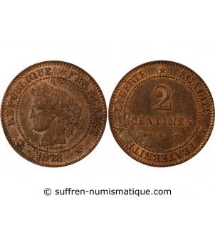 CERES - 2 CENTIMES 1878 K...