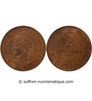 CERES - 2 CENTIMES 1878 A...