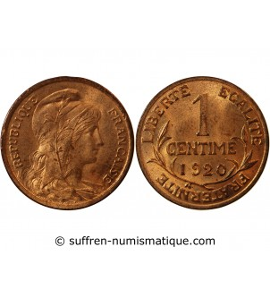 DUPUIS - 1 CENTIME 1920