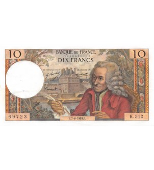 FRANCE, VOLTAIRE - 10...