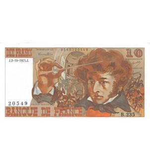 FRANCE, BERLIOZ - 10 FRANCS...