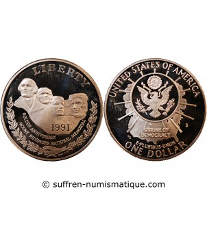 USA - DOLLAR ARGENT 1991 S...