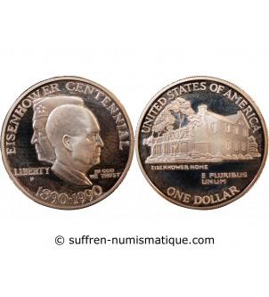 USA - DOLLAR ARGENT 1990 P...