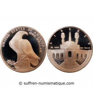 USA - DOLLAR ARGENT 1984 S...