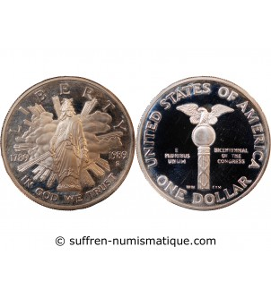 USA - DOLLAR ARGENT 1989 S...