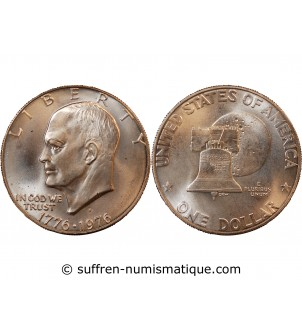 USA - DOLLAR ARGENT 1976 S...