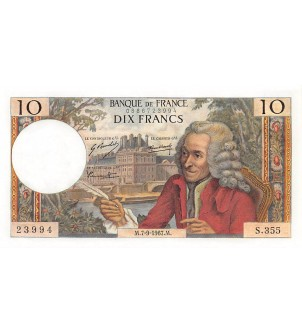 FRANCE - 10 FRANCS VOLTAIRE...