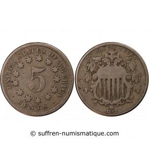 "USA - 5 CENTS ""Union..."