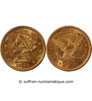 USA, LIBERTY- 2,5 DOLLARS...