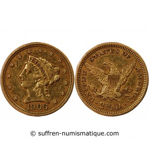 USA, LIBERTY - 2,5 DOLLARS...