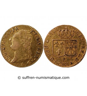 LOUIS XVI - LOUIS D'OR 1790...