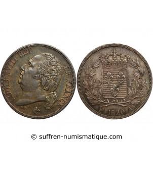 2 FRANCS LOUIS XVIII 1820 A...