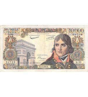 FRANCE, BONAPARTE - 10 000...