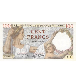 FRANCE, SULLY - 100 FRANCS...