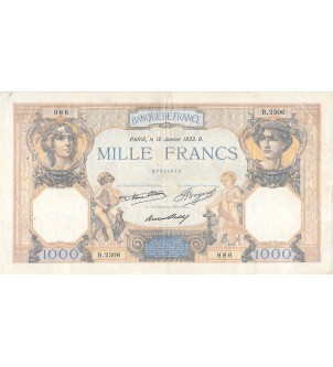 copy of BILLET DU TRESOR,...