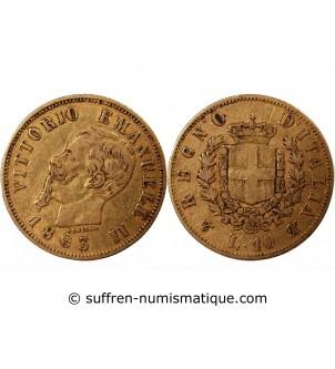 ITALIE, VICTOR-EMMANUEL III...