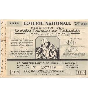 Billet de Loterie...