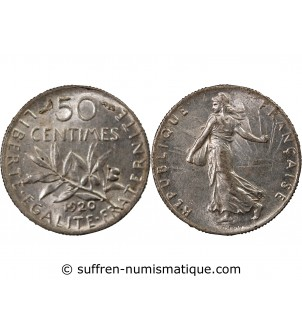 SEMEUSE - 50 CENTIMES...