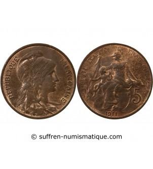DUPUIS - 5 CENTIMES 1911