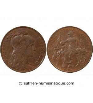 DUPUIS - 5 CENTIMES 1905
