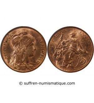 DUPUIS - 5 CENTIMES 1902