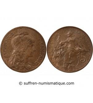 DUPUIS - 5 CENTIMES 1901