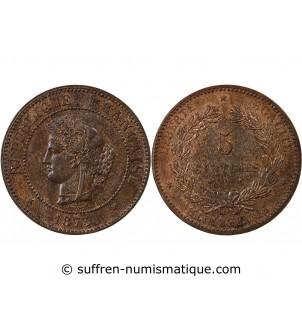 CERES - 5 CENTIMES 1873 A...